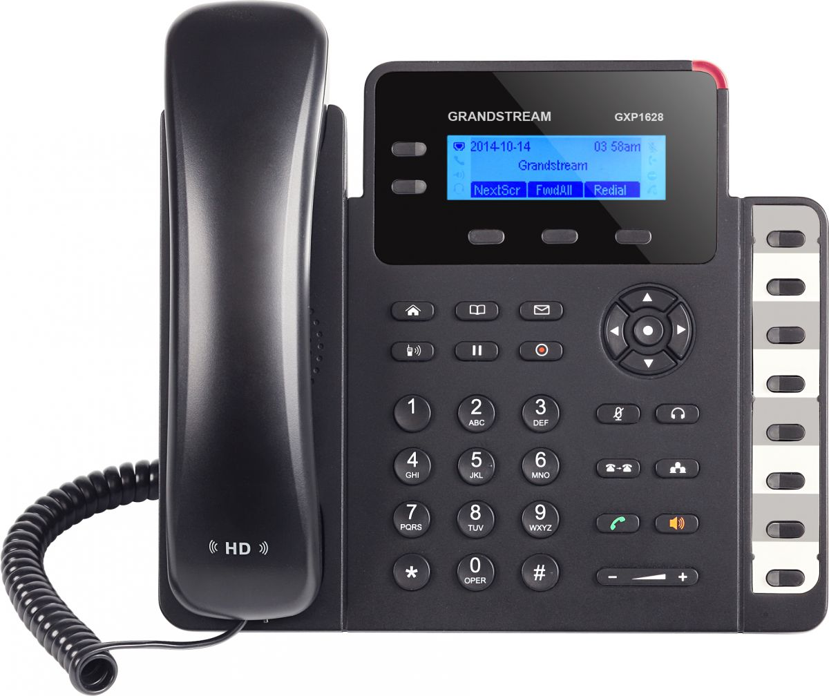 NEW Grandstream GXP1625 Small Business HD 2-Line IP Phone w// POE