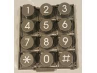 Panasonic KX-DT300/KX-NT300 Series Phones Dialpad Buttons