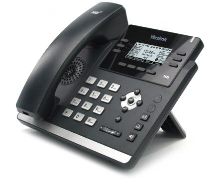 SIP-T42S Gigabit IP Display Speakerphone