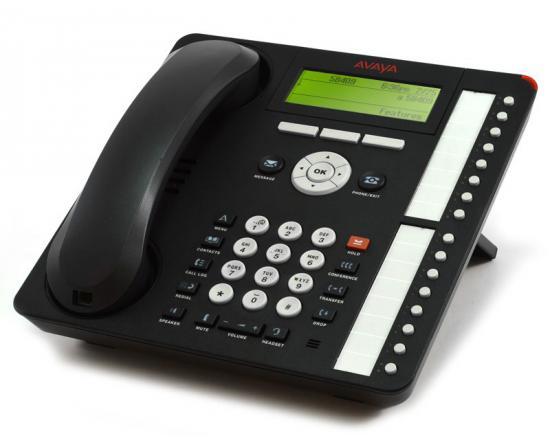 Avaya 1616-I 16-Button Black IP Display Speakerphone - Grade A