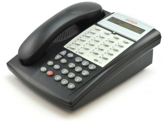 Avaya Euro Partner 18D Series II 18-Button Black Display Speakerphone