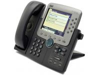 Cisco CP-7970G Charcoal IP Color Display Speakerphone - Grade B