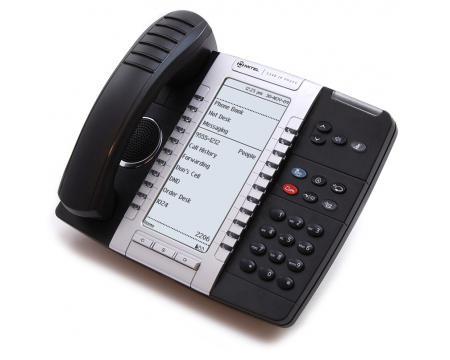 Mitel 5340 IP Dual Mode Large Backlit Display Phone (50005071)