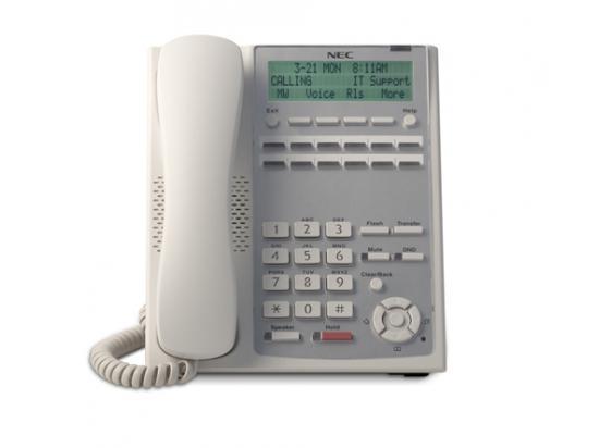 NEC SL1100 12-Button Full-Duplex Telephone (White)
