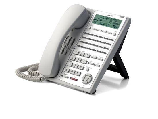NEC SL1100 24-Button Full-Duplex Telephone - White (1100062)