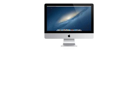 """Apple iMac A1418 21.5"""" AiO Intel Core i5 (4570S) 2.9GHz 8GB DDR3 1TB HDD"""