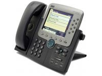 Cisco CP-7970G Charcoal IP Color Display Speakerphone - Grade A