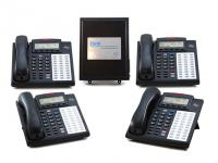 ESI Communications Server Phone System w/ VM & (4) Phones