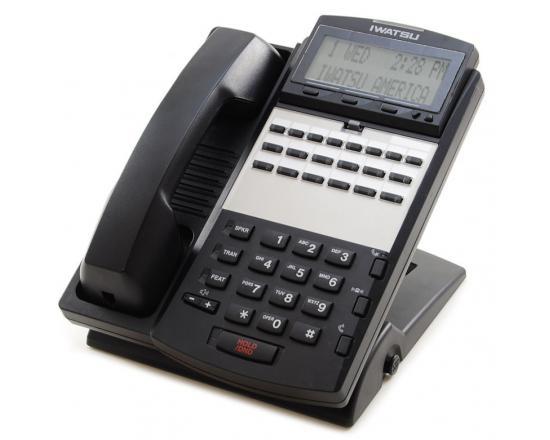 Iwatsu Omega-Phone ADIX IX-12IPKTD-E2 12-Button Black IP Display Phone (104285)