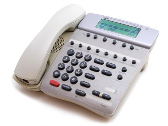 NEC Electra Elite IPK DTH-8D-2 8-Button White Display Telephone (780573)